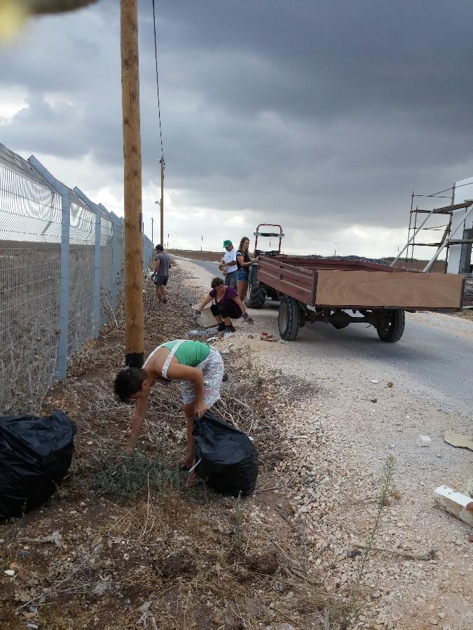 מבצע ניקיון בגדר הצפונית   (1 תמונות)
